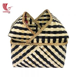 Woven Bamboo Basket Collection